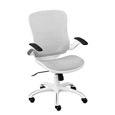 Linear Vertical Mesh Task Chair With Flip Arms