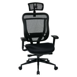 Mesh High Back Office Chair with Headrest