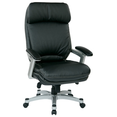 Ergonomic Faux Leather Executive Chair