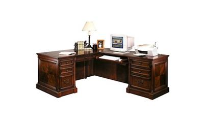 Traditional Right Return L-Desk