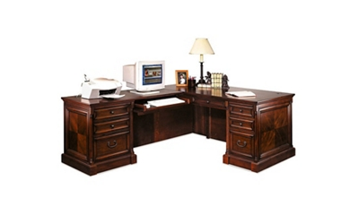 Traditional Left Return L-Desk