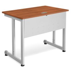 "Modular Computer Desk with Modesty Panel - 36""W x 24""D"
