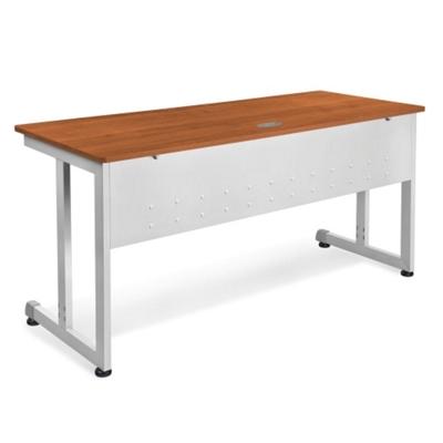 "Modular Computer Desk with Modesty Panel - 60""W x 24""D"