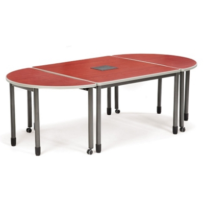 8' Oval Table Set