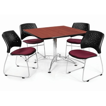Modern Breakroom Set And More Lifetime Guarantee - Break room table and chair sets