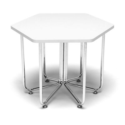 "Hexagonal Table - 22.75""W"