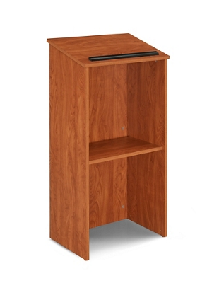 Full Floor Lectern with Shelf