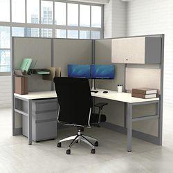 Corben Corner Desk with P Legs