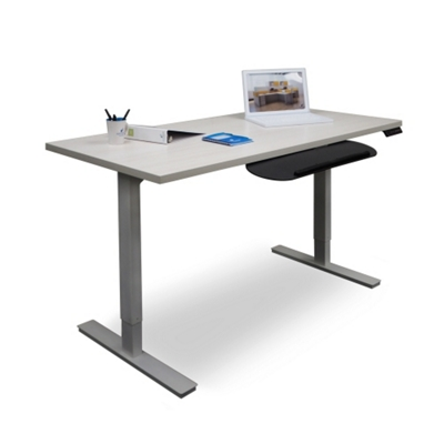 "Adjustable Height Table Desk 60""W x 30""D"