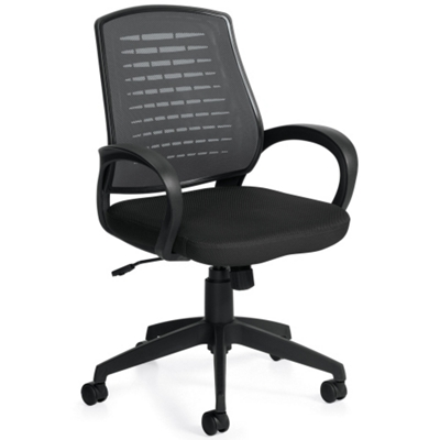 Mesh Back and Fabric Seat Task Chair