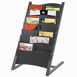 Seven Compartment Literature Display