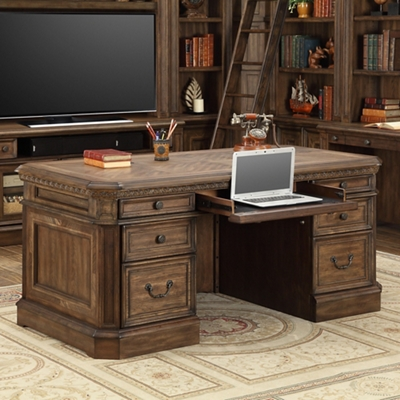 "Double Pedestal Desk - 66""W"