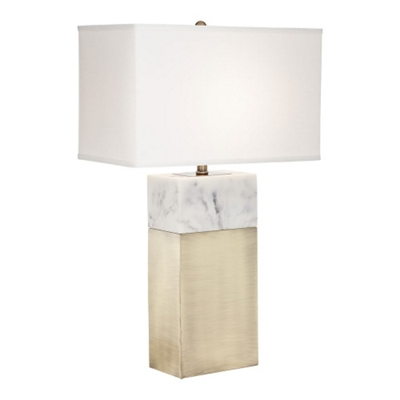 Marble Accent Table Lamp