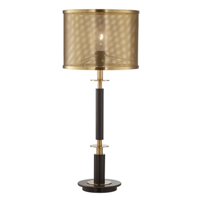 Perforated Shade Table Lamp