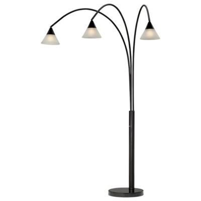Hanging Bulb Floor Lamp