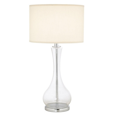Glass Table Lamp with Shade