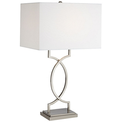Trellis Frame Table Lamp