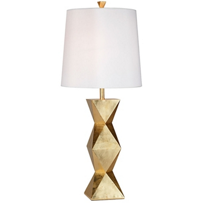 Geometric Base Table Lamp