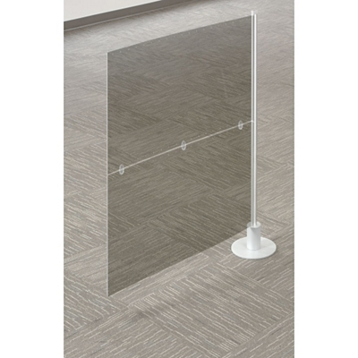 """Two Insert Single Add-On Divider - 49""""H"""