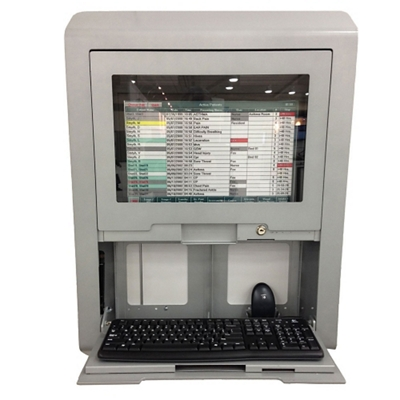 Wall Charting Station with Window