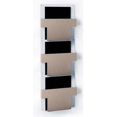 Three Pocket T-Style File Chart Holder