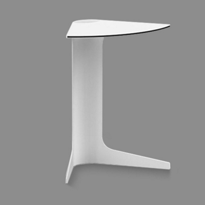 """Stackable Modular Wedge Table - 22""""H"""