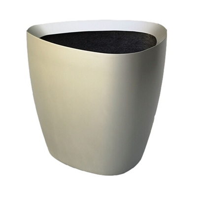 "Fiberglass Triangular Planter - 24""DIA"