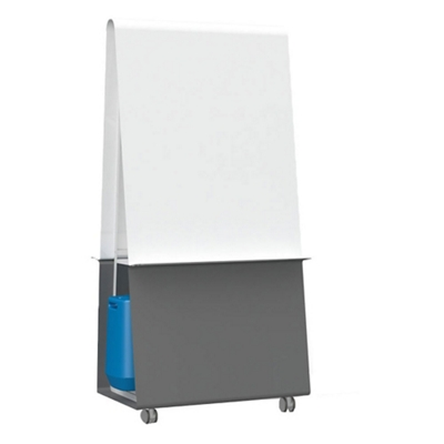 "Mobile Magnetic Dry Erase Easel - 36""W"