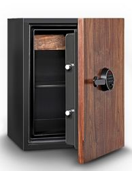 2.28 Cubic Feet Fire Resistant Wood Door Record Safe