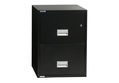 """Fireproof Two Drawer Vertical File - 16.875""""W x 25""""D"""