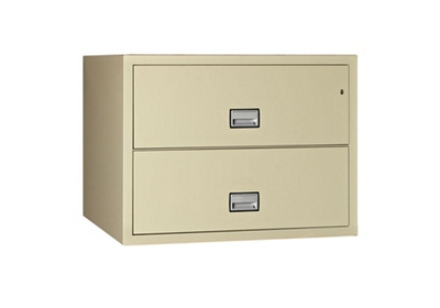 "Fireproof Two Drawer Lateral File - 31""W x 23.62""D"