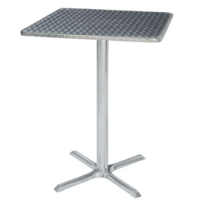 """Outdoor Square Bar Height Table - 28""""W x 28""""D"""