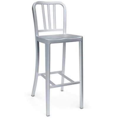 Outdoor Aluminum Bar Height Stool