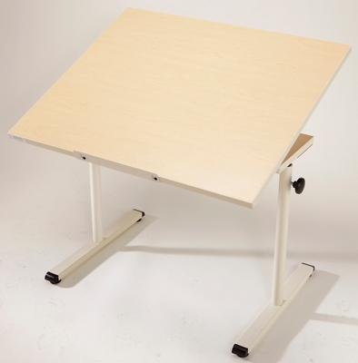 "Adjustable Height Work Table with Tilt - 36""W x 30""D"