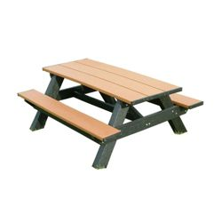 Recycled Plastic Standard Picnic Table 6'