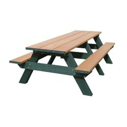 Recycled Plastic Standard Picnic Table 8'