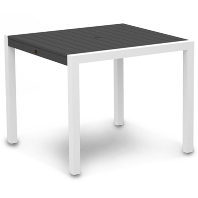 """Outdoor Square Dining Table - 36""""W"""