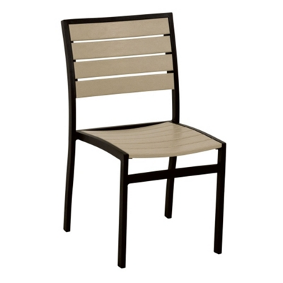 Euro Dining Side Chair By Poly Wood Inc