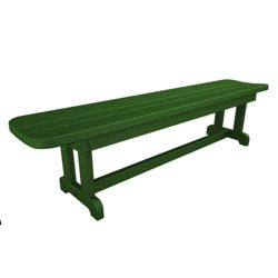 "Park Harvester Backless Bench 72""W"