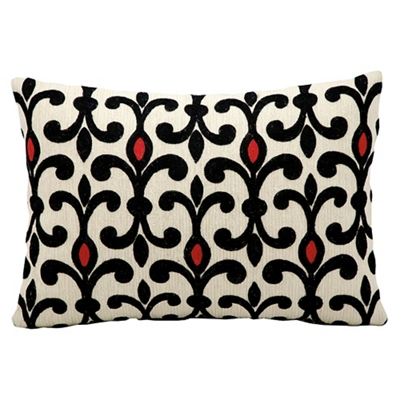 """kathy ireland by Nourison Patterned Accent Pillow - 20""""W x 14""""H"""