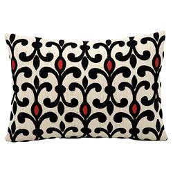 "kathy ireland by Nourison Patterned Accent Pillow - 20""W x 14""H"