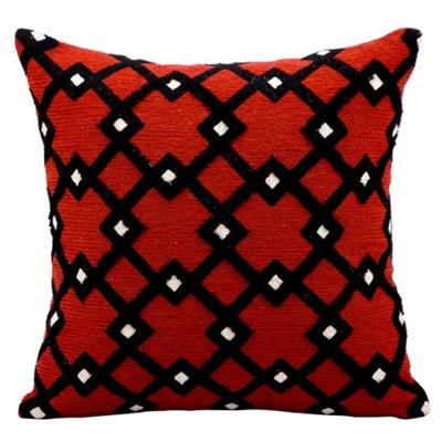 "kathy ireland by Nourison Diamond Pattern Accent Pillow - 18""W x 18""H"