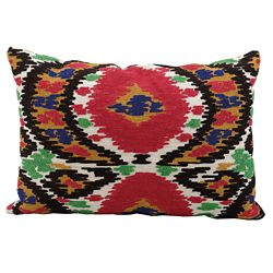"kathy ireland by Nourison Ikat Pattern Accent Pillow - 20""W x 14""H"
