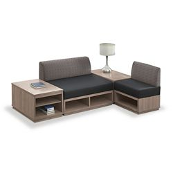Encounter Four Piece L-Shaped Modular Seating Set