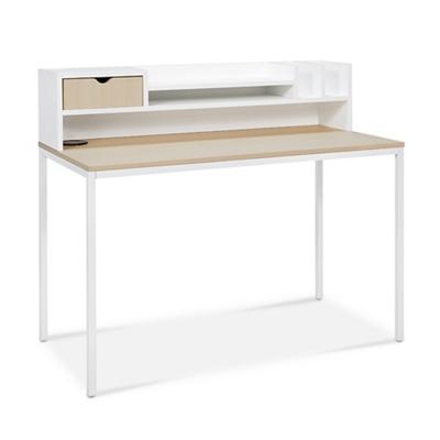 "Brite Desk and Hutch Set - 48""W x 24""D"