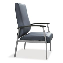 Compass High Back Guest Chair with Arms