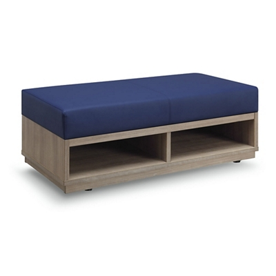 Encounter Double Seat Storage Bench