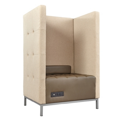 Traffic Privacy Lounge Chair