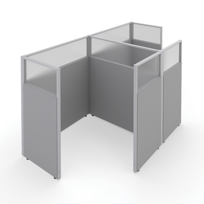 """60""""H Panels Only 1X2 Workstations 60""""x60"""" each"""