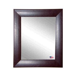 "26""H x 22""W Leather Frame Wall Mirror"